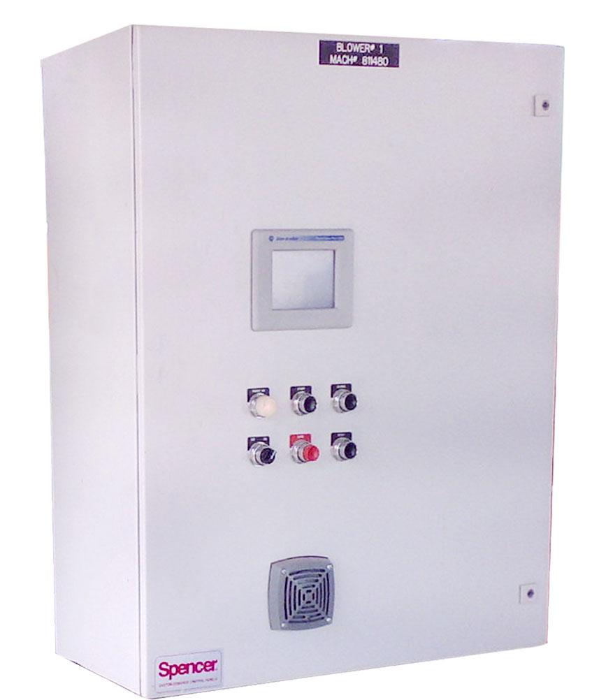 Spencer PLC Control Panel